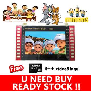 MP4 Learning Kids Player 10 Inch XY-9015 Full HD