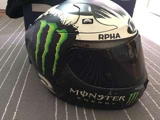 HJC ghost fuera full face helmet
