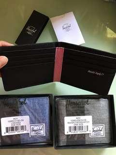 Herschel 銀包全卡位/相片位$200