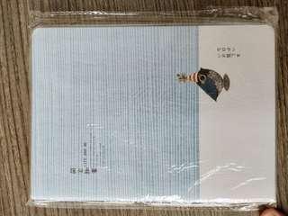 A5 blue notebook