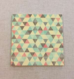 Study Note book - Square (9 x 9 inches)