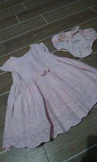 Preloved Early days dress