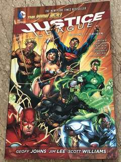 DC comic Justice League Origin Volume 1