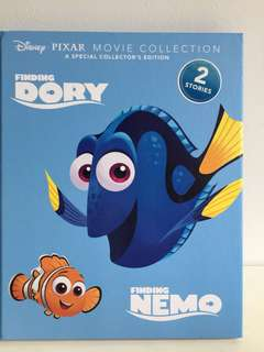 New book: Disney finding nemo and dory