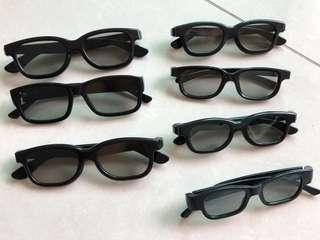 3 D Glasses for Cinema