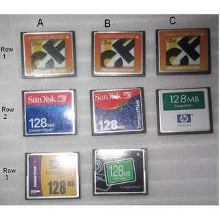 CF Card 128MB