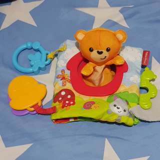 Fisher Price Finger Puppet Cloth Book