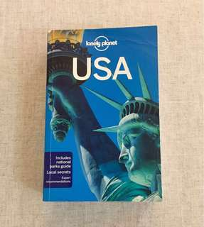Lonely Planet USA Travel Book