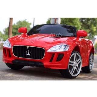 🚚 In-stock - nice red maserati kids electric car