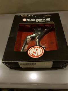 RSD Clutch and Brake levers for Harley Baggers