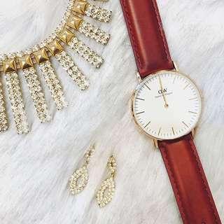 🚚 dw classic系列手錶全新(議價拉黑)