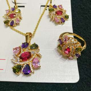 Jewelry set - swarovski