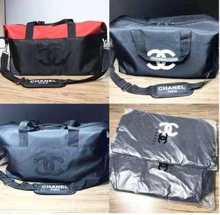 Chanel VIP travel bag new ada tempat sepatunya