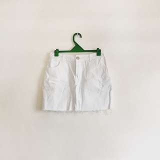 COTTON On white skirt
