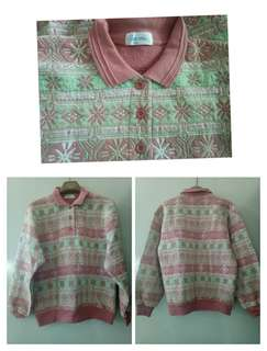 Sweater motif lucu
