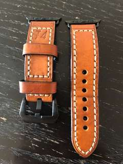 Apple watch 42mm 真皮錶帶 (原價488)