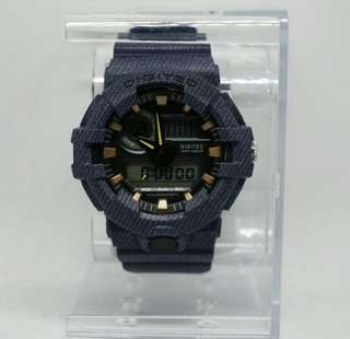 Jam tangan digitec original denim blue tipe 2118