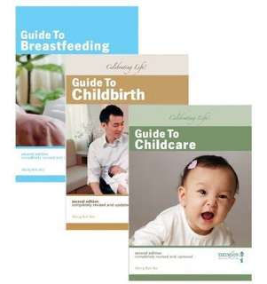 BN New Thomson Wong Boh Boi Second Edition Pregnancy Book Set Guide to Breastfeeding Childcare Childbirth