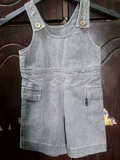 New Comme Ca Ism Girl/Boy Denim Overall size 95 it 2-3y