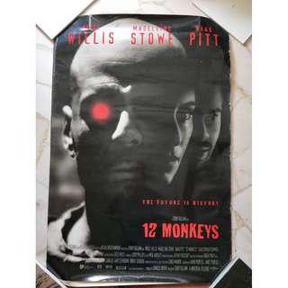 Film Poster - 12 Monkeys