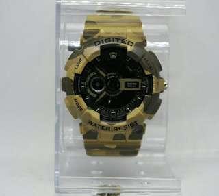 Jam tangan digitec original army DOTS tipe 2077