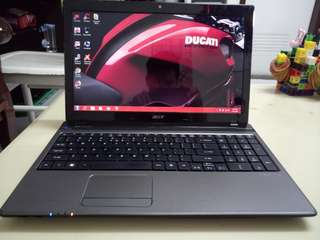 Acer i5/win7/4Gb/750Gb hdd/15.6inch/Gaming