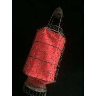 (Rent) Red Lantern Decorative Oriental Theme 16""