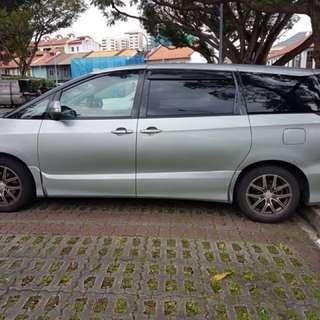 Estima 7, 8 seater and 9 Seater MPV  RAYA 2nd week