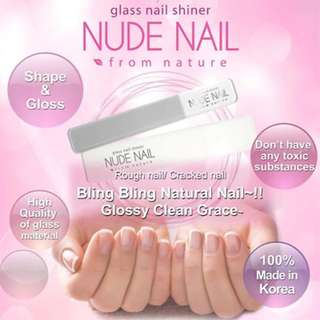 Glass Nail File & Shiner (Made in Korea) - Patented Glass