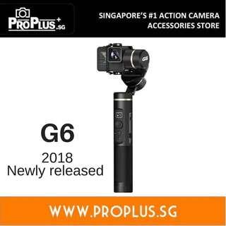 Feiyu Tech G6 Gimbal (3 axis gimbal for GoPro Hero 6, Hero 5, Hero, Sony RX0, similar action cameras)