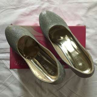 Silver Heels 2 inches