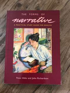 The Forms of Narrative by Peter Abbs/John Richardson