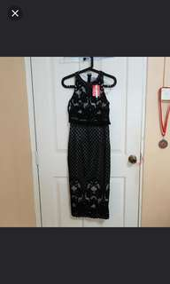 ⛤ BNWT ASOS Black Lace Dress