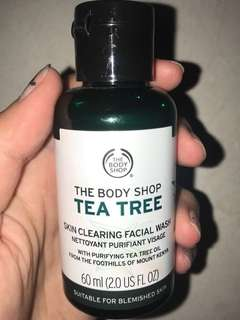 The Body Shop Tea Tree Facial Wash 60ml