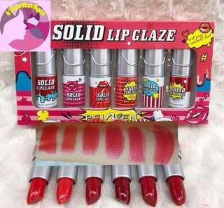 Solid Lipglaze Lipstick
