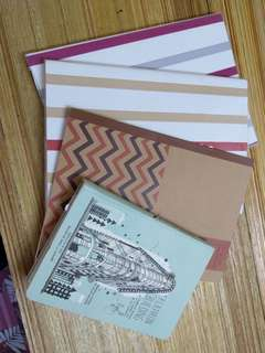 (including pos) Notebook set