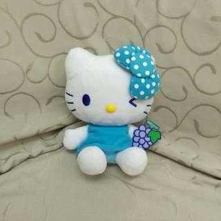 Hello Kitty 公仔 藍色蝴蝶結&提子造型 單買$50 3隻$120