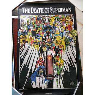 Poster - Death of Superman