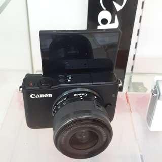 Kamera Canon Eos M10 Mirrorless MURAH (Kredit Dp 0%)