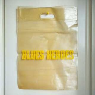 🚚 【onsale】BLUES HEROES透明購物袋