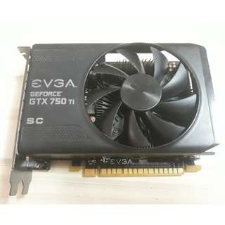 EVGA GeForce GTX 750Ti SC 2GB GDDR5 Graphics Card 02G-P4-3753-KR
