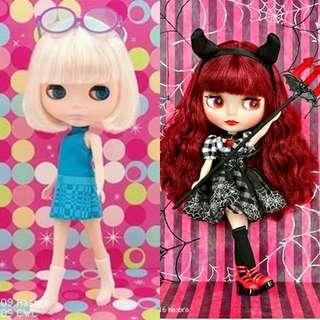 LF/WTB Prima Dolly Paris Blythe and Devi Delacour Blythe Doll