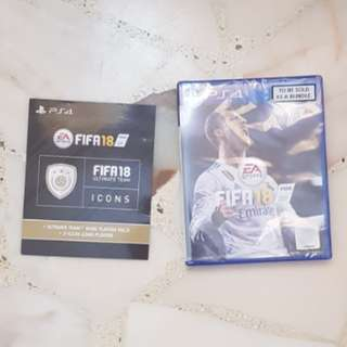 NEW FIFA18 WITH ICON CODE