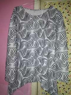 Blouse zebra #MauSupreme