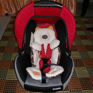Sweet Cherry Carrier CarSeat