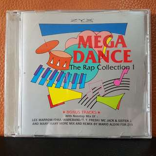 CD》Mega Dance - The Rap Collection 1