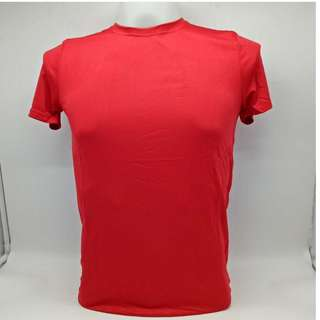 Athletic Dry Fit Shirt 8000 Unisex (Red)