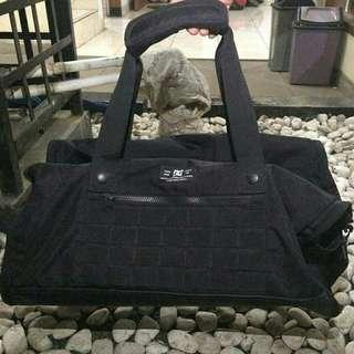 Duffle Bag / Traveling Bag Dc Black Tanker III M Original