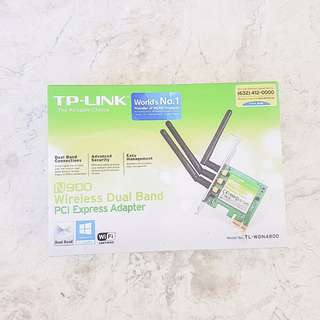 TP-Link N900 Wireless Dual Band PCI Express Adapter (TL-WDN4800)