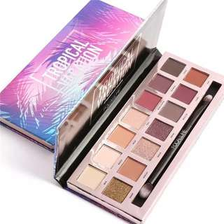 Focallure tropical vacation pallete